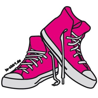 Free Clipart Cartoon Tennis Shoes