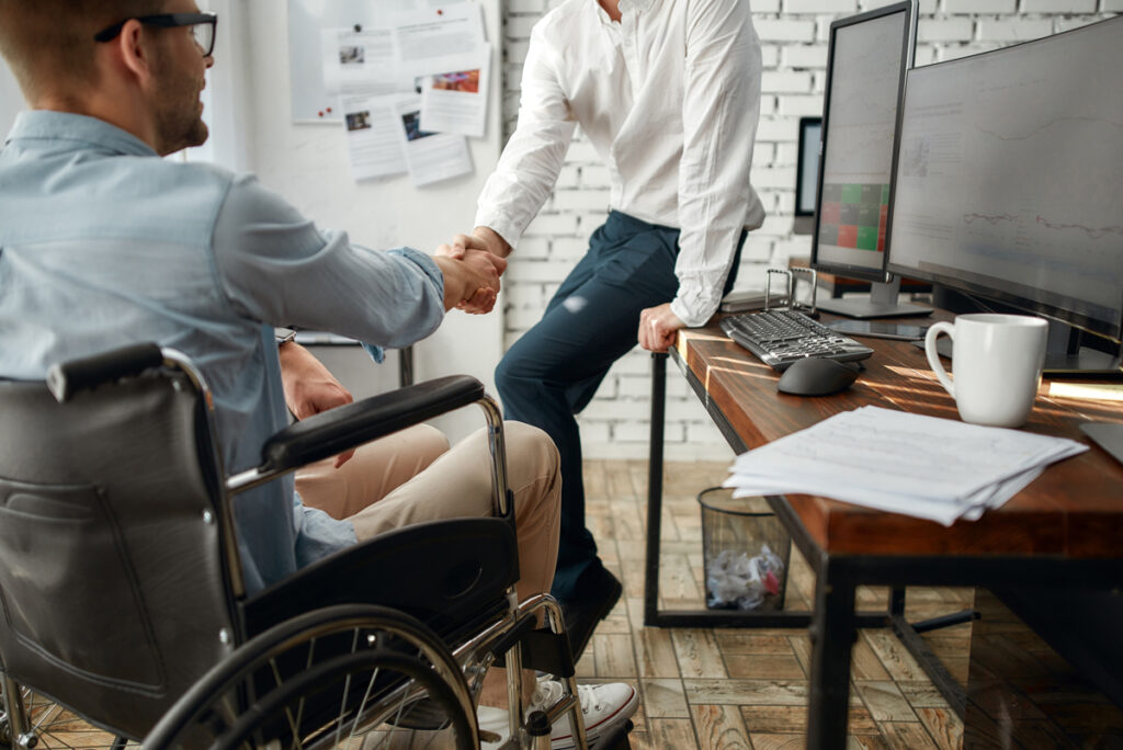 Employment services for disabled.